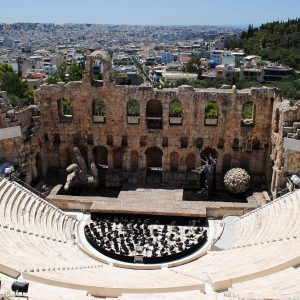 The Odeon of Herodes Atticus